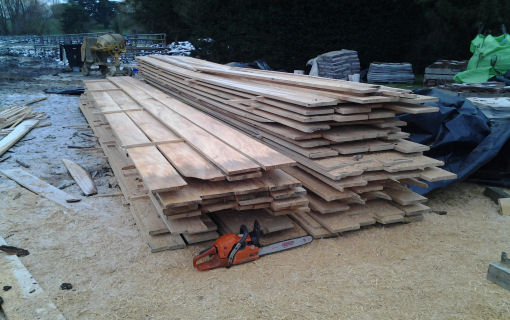 Sawn Fence Boards